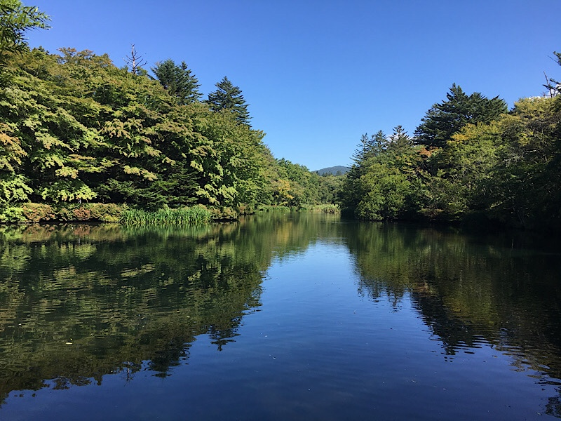 軽井沢の風景写真