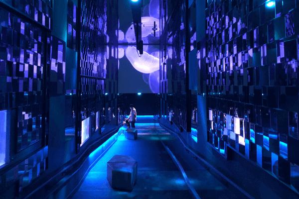 すみだ水族館「万華鏡トンネル」