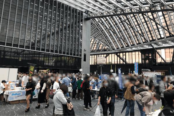 アクアリウム東京の全体会場