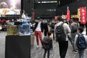 アクアリウム東京の入り口