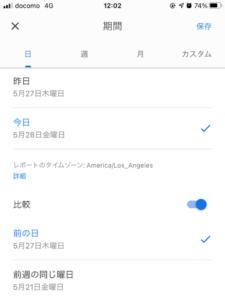 アナリティクスアプリ