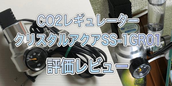 クリスアルアクアSS-1GR01レビュー