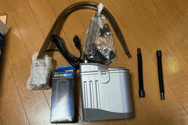 テトラオートパワーフィルターAX-45Plusの評価